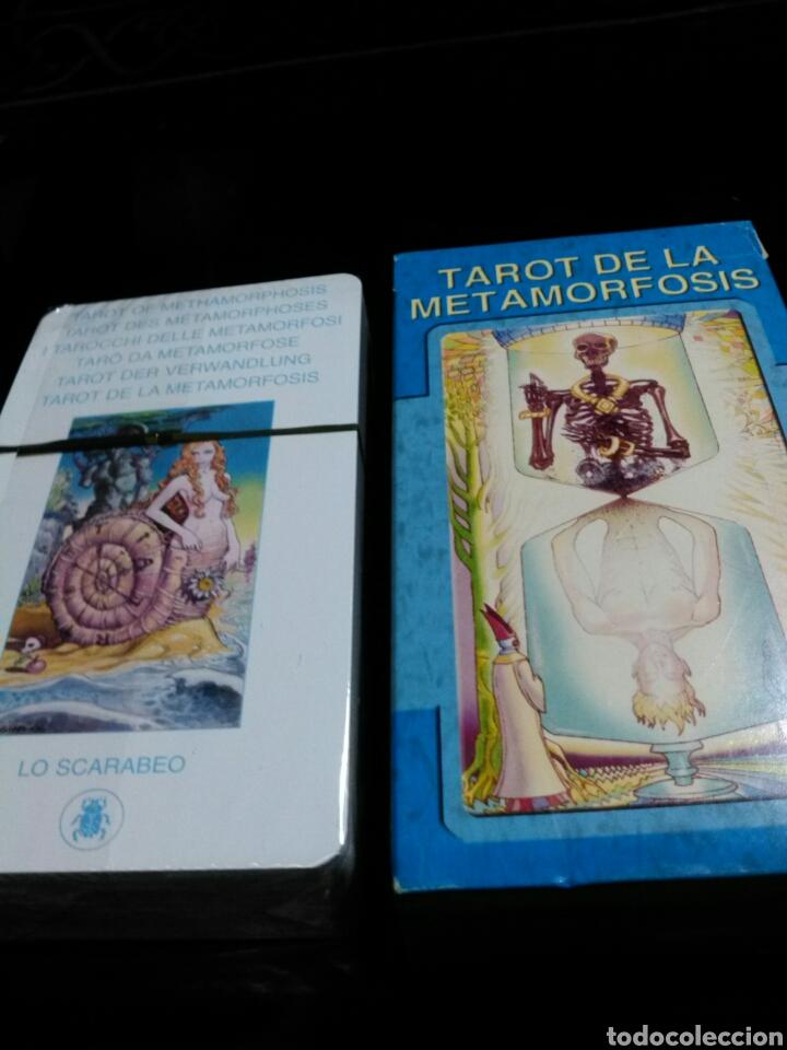 Barajas de cartas: TAROT METAMORFOSIS. LO SCARABEO. - Foto 4 - 190409105