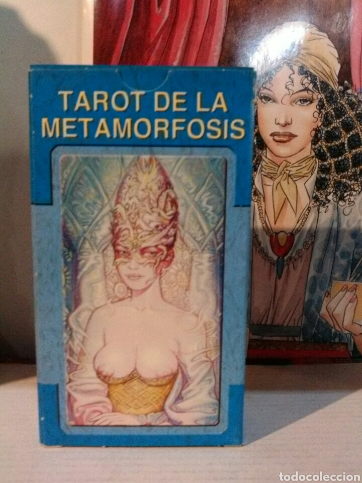 TAROT METAMORFOSIS. LO SCARABEO. (Juguetes y Juegos - Cartas y Naipes - Barajas Tarot)