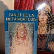 Barajas de cartas: TAROT METAMORFOSIS. LO SCARABEO.. Lote 190409105