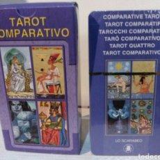Barajas de cartas: TAROT COMPARATIVO. NUEVO. PRECINTADO.LO SCARABEO. Lote 190409621