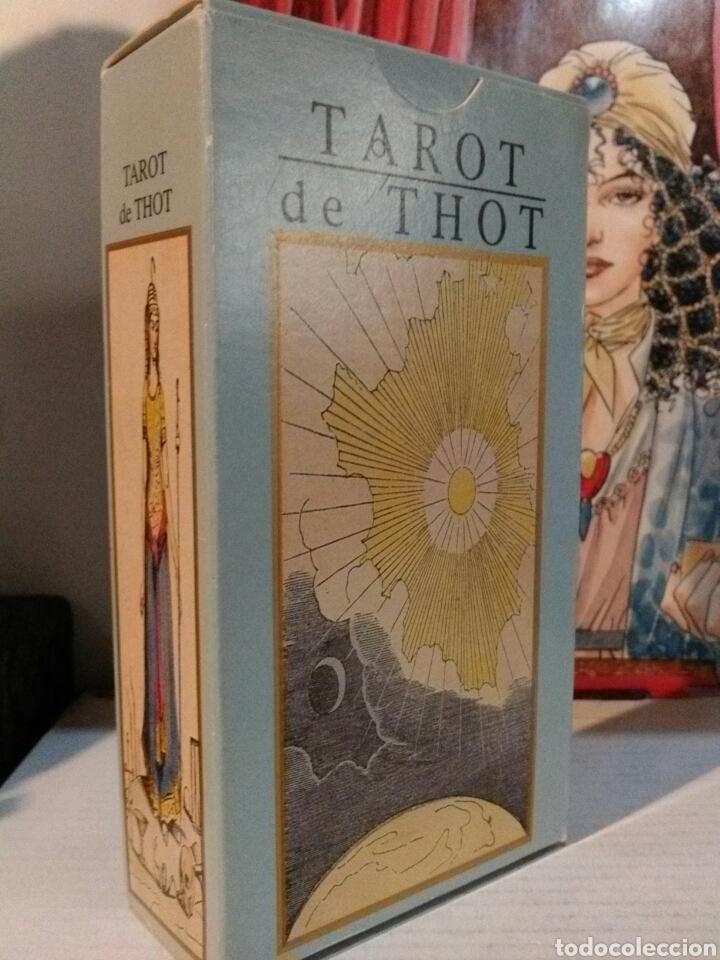 Barajas de cartas: TAROT DE THOT. LO SCARABEO. - Foto 2 - 190409983