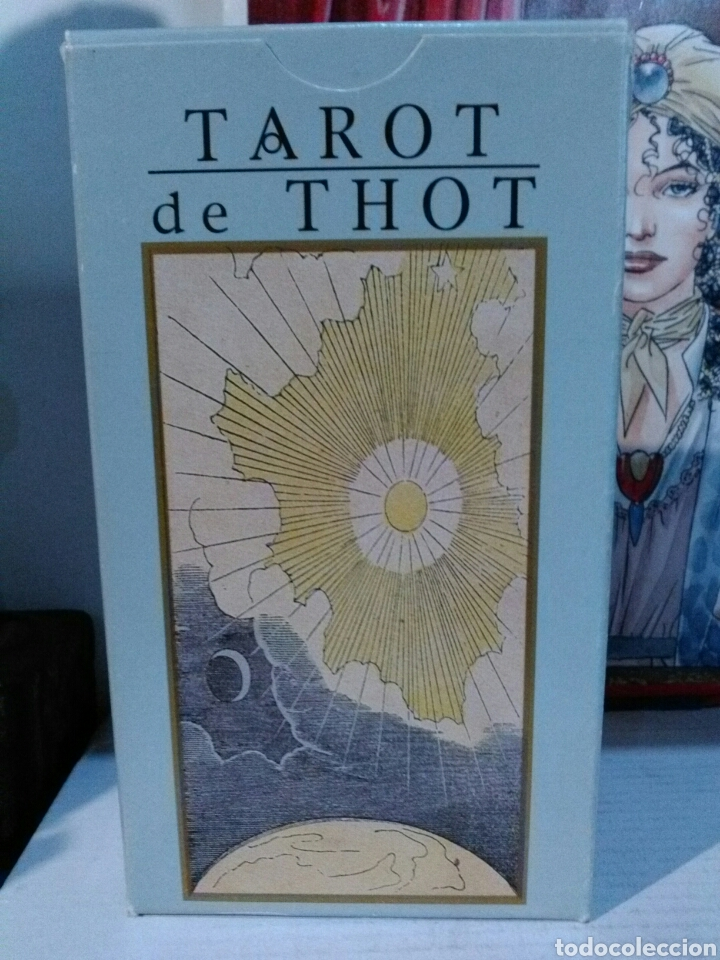 TAROT DE THOT. LO SCARABEO. (Juguetes y Juegos - Cartas y Naipes - Barajas Tarot)