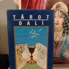 Barajas de cartas: TAROT DALÍ. LO SCARABEO. AÑO 2000.. Lote 190417508