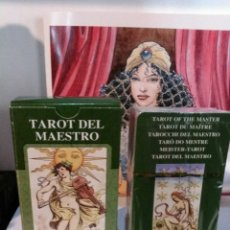 Barajas de cartas: TAROT DEL MAESTRO.NUEVO. LO SCARABEO. Lote 190418248