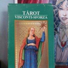 Barajas de cartas: TAROT VISCONTI SFORZA. AÑO 2000. Lote 190419088
