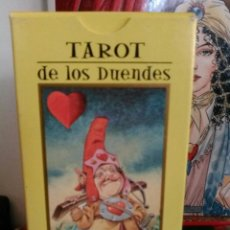 Barajas de cartas: TAROT DE LOS DUENDES. LO SCARABEO.. Lote 190429272