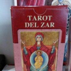 Barajas de cartas: TAROT DEL ZAR. LO SCARABEO.. Lote 190430112