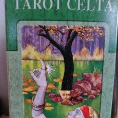 Barajas de cartas: TAROT CELTA. NUEVO. PRECINTADO LO SCARABEO.. Lote 190432580