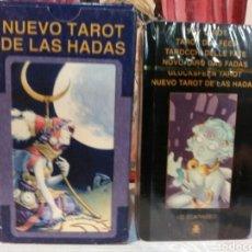 Barajas de cartas: TAROT DE LAS HADAS. LO SCARABEO. NUEVO. PRECINTADO. Lote 190453771