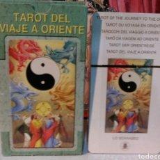 Barajas de cartas: TAROT DEL VIAJE A ORIENTE. LO SCARABEO. NUEVO. PRECINTADO. Lote 190454392