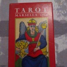 Barajas de cartas: BARAJA DE TAROT MARSELLA 1760. NICOLAS CONVER ORBIS FABBRI. 2001. Lote 190462326