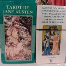 Barajas de cartas: TAROT JANE AUSTEN. NUEVO. PRECINTADO. LO SCARABEO. Lote 190467792