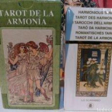 Barajas de cartas: TAROT DE LA ARMONÍA. NUEVO. PRECINTADO. LO SCARABEO.. Lote 190468200