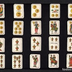 Barajas de cartas: LOTE 2 BARAJAS COMAS MINIATURA EL CIERVO AÑOS '50. Lote 240540055