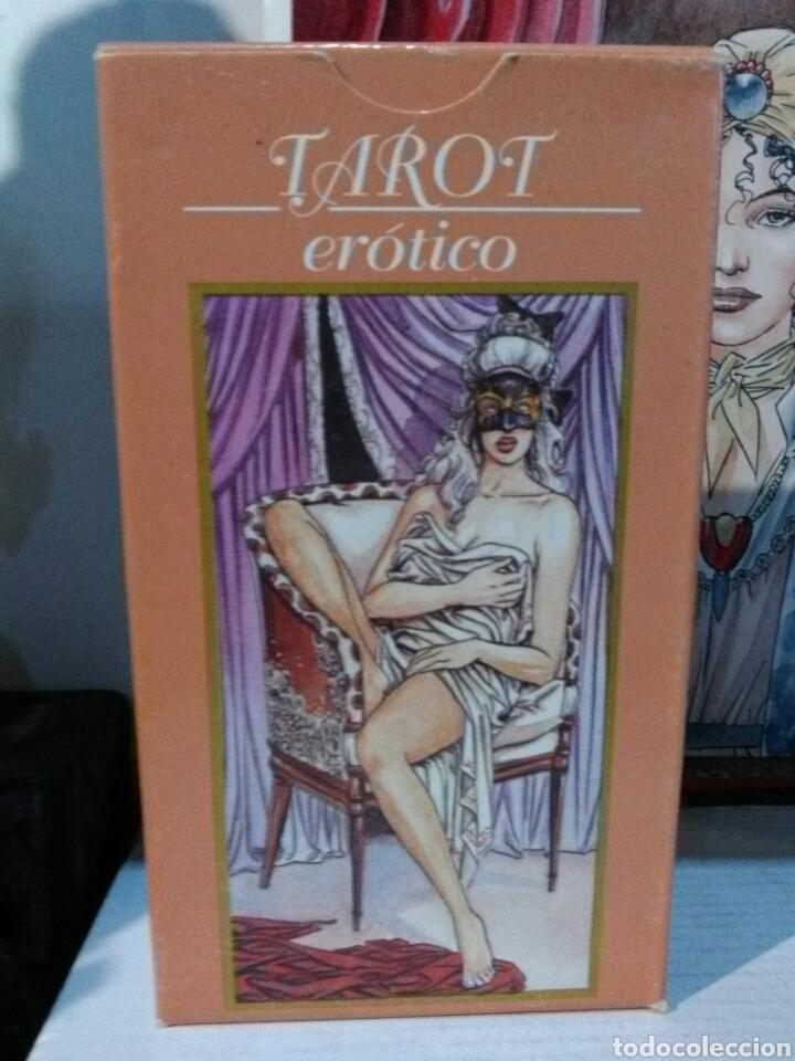 TAROT ERÓTICO.LUCA RAIMONDO 2000.LO SCARABEO. (Juguetes y Juegos - Cartas y Naipes - Barajas Tarot)