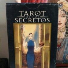 Barajas de cartas: TAROT DE LOS SECRETOS. LO SCARABEO. Lote 190503478