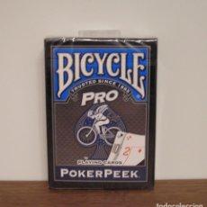 Barajas de cartas: BICYCLE PRO POKERPEEK. Lote 190505697