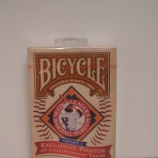 Barajas de cartas: BICYCLE BASEBALL NEGRO LEAGUES. Lote 190505961
