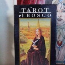 Barajas de cartas: TAROT EL BOSCO. LO SCARABEO. ORBIS FABBRI. 2000. Lote 190509848