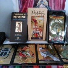 Barajas de cartas: TAROT EGIPCIO. SILVANA ALASIA 1998. I TAROCCHI DI NEFERTARI.. Lote 190528633