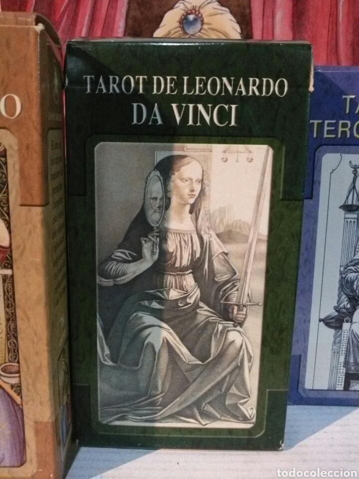 Barajas de cartas: 2+1 GRATIS. LOTE DE 3 TAROT. TAROT DEL RENACIMIENTO +TAROT LEONARDO DA VINCI +TAROT TERCER MILENIO - Foto 3 - 190543421
