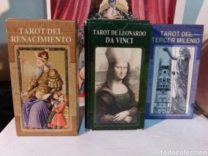 Barajas de cartas: 2+1 GRATIS. LOTE DE 3 TAROT. TAROT DEL RENACIMIENTO +TAROT LEONARDO DA VINCI +TAROT TERCER MILENIO - Foto 5 - 190543421