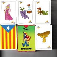 Barajas de cartas: BARAJA ESPAÑOLA CARTAS CATALANAS - ESTELADA. Lote 190549932