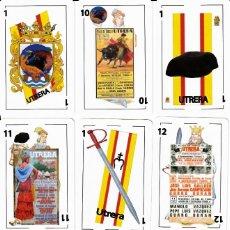 Barajas de cartas: BARAJA ESPAÑOLA TAURINA DE UTRERA. Lote 190550153