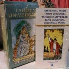 Barajas de cartas: TAROT UNIVERSAL. NUEVO. LO SCARABEO.. Lote 190690310