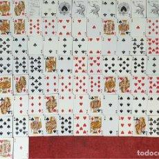 Barajas de cartas: JUEGO DE 109 CARTAS. DOBLE BARAJA. HERACLIO FOURNIER. CIRCA 1960. . Lote 190690458