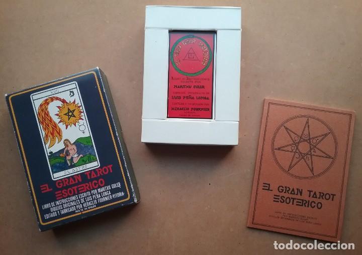 TAROT ESOTÉRICO MAZO ARCANOS FOURNIER 1976 (Juguetes y Juegos - Cartas y Naipes - Barajas Tarot)