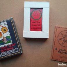Barajas de cartas: TAROT ESOTÉRICO MAZO ARCANOS FOURNIER 1976. Lote 190859817