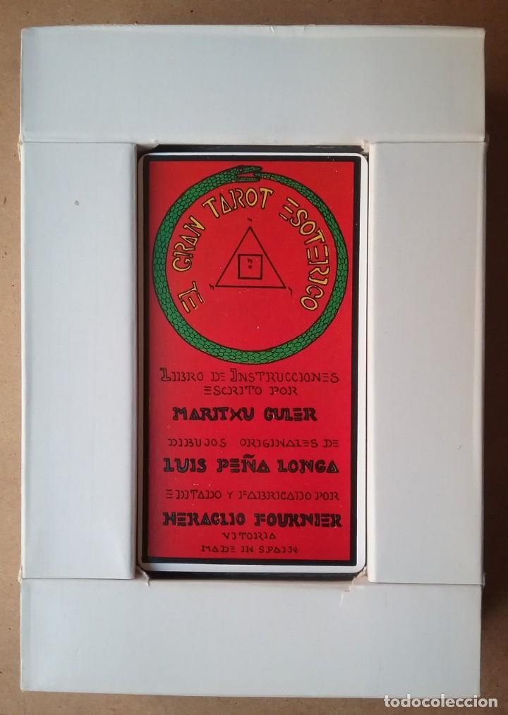 Barajas de cartas: TAROT ESOTÉRICO MAZO ARCANOS FOURNIER 1976 - Foto 4 - 190859817