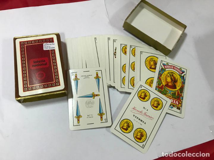 BARAJA DE CARTAS - LOTERIA NACIONAL - FOURNIER - 1974 - BARAJA ESPAÑOLA, C / CAJA (Juguetes y Juegos - Cartas y Naipes - Baraja Española)