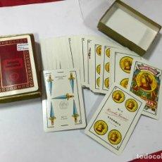 Barajas de cartas: BARAJA DE CARTAS - LOTERIA NACIONAL - FOURNIER - 1974 - BARAJA ESPAÑOLA, C / CAJA. Lote 190909622