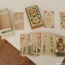 Barajas de cartas: BARAJA TAROT ESPAÑOL FOURNIER BILINGÜE. Lote 190927930