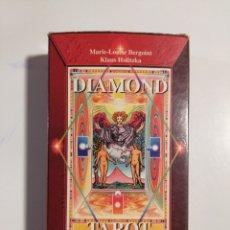 Barajas de cartas: DIAMOND TAROT MARIE LOUIS BERGONIT KLAUS HOLITZKA. Lote 191160135
