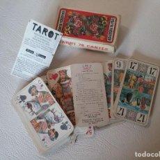 Barajas de cartas: BARAJA TAROT 78 CARTAS. Lote 191211878