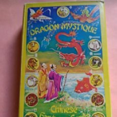 Barajas de cartas: DRAGON MYSTIQUE CHINESE FORTUNE CARDS - MADE IN HONG KONG. Lote 191349123