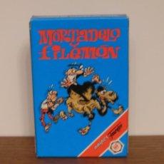 Jeux de cartes: HERACLIO FOURNIER - MORTADELO Y FILEMON. Lote 191354925