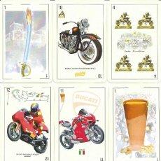 Barajas de cartas: BARAJA ESPAÑOLA ESPECIAL MOTERA-NOVEDAD 2020. Lote 191365493