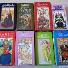 Barajas de cartas: LOTE CARTAS DE TAROT. Lote 207352780