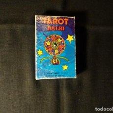 Barajas de cartas: TAROT BALBI HERACLIO FOURNIER AÑOS 70. Lote 191391442