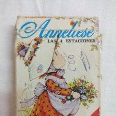 Mazzi di carte: CARTAS FOURNIER/ANNALIESE/LAS 4 ESTACIONES/INCOMPLETA.. Lote 191459191