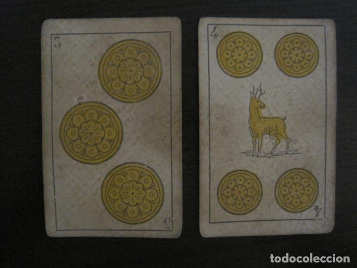 Barajas de cartas: BARAJA DE CARTAS ANTIGUA-MANAUT HERMANOS-VALENCIA-40 CARTAS-VER FOTOS-(V-18.789) - Foto 7 - 191495153