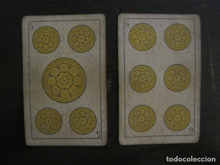 Barajas de cartas: BARAJA DE CARTAS ANTIGUA-MANAUT HERMANOS-VALENCIA-40 CARTAS-VER FOTOS-(V-18.789) - Foto 9 - 191495153