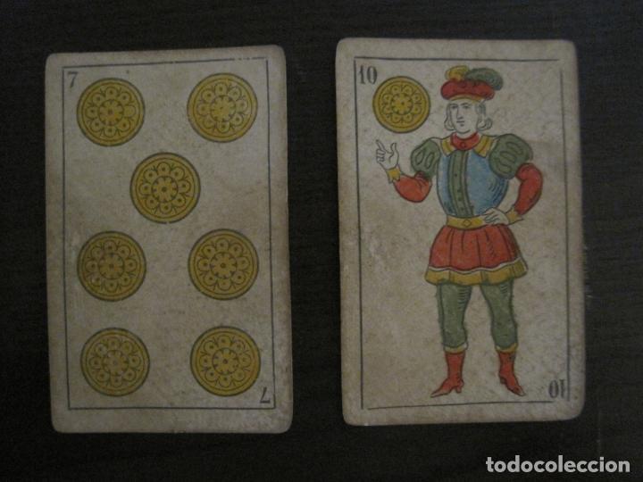 Barajas de cartas: BARAJA DE CARTAS ANTIGUA-MANAUT HERMANOS-VALENCIA-40 CARTAS-VER FOTOS-(V-18.789) - Foto 11 - 191495153