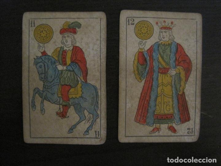 Barajas de cartas: BARAJA DE CARTAS ANTIGUA-MANAUT HERMANOS-VALENCIA-40 CARTAS-VER FOTOS-(V-18.789) - Foto 13 - 191495153