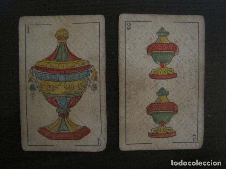 Barajas de cartas: BARAJA DE CARTAS ANTIGUA-MANAUT HERMANOS-VALENCIA-40 CARTAS-VER FOTOS-(V-18.789) - Foto 15 - 191495153
