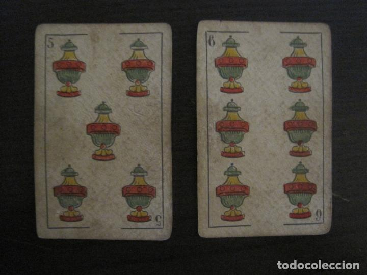 Barajas de cartas: BARAJA DE CARTAS ANTIGUA-MANAUT HERMANOS-VALENCIA-40 CARTAS-VER FOTOS-(V-18.789) - Foto 19 - 191495153